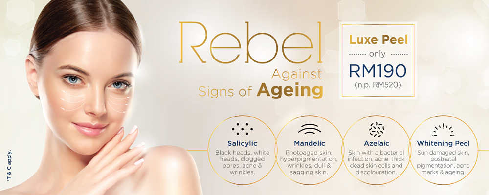 Rebel Against Signs of Aging