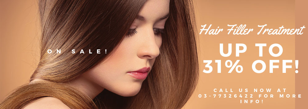 Special promotion for Hair Filler treatment
