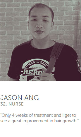 Testimonial from Jason Ang