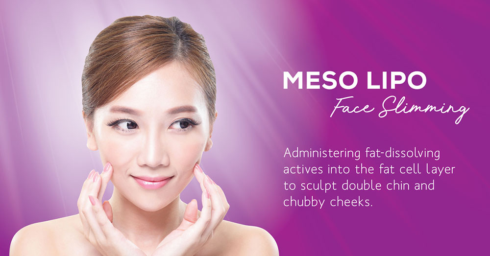 Meso-lipo face slimming