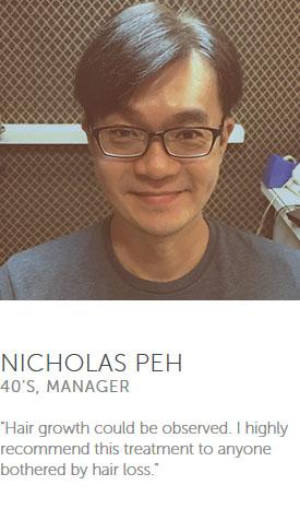 Testimonial from Nicholas Peh