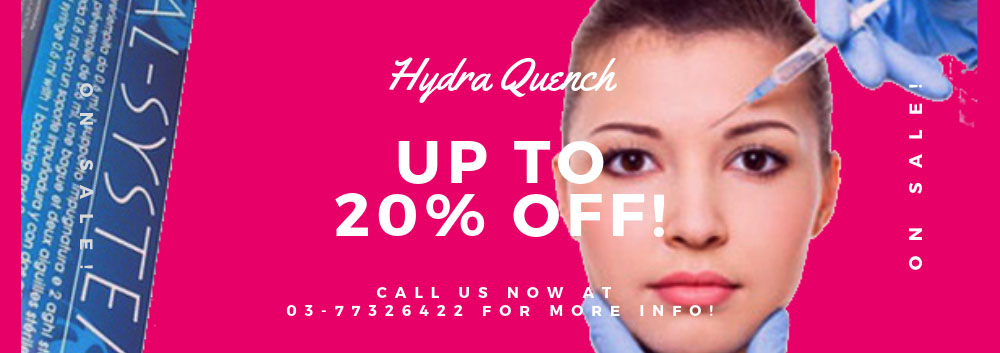Special promotion for Hydra Quench